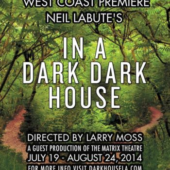 In a Dark House theater poster #1