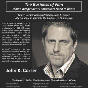 2014 West Virginia Filmmakers Festival Guest: John Corser, Producer