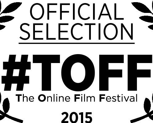 """The Online Film Festival """"Official Selection"""" ad 2015."""