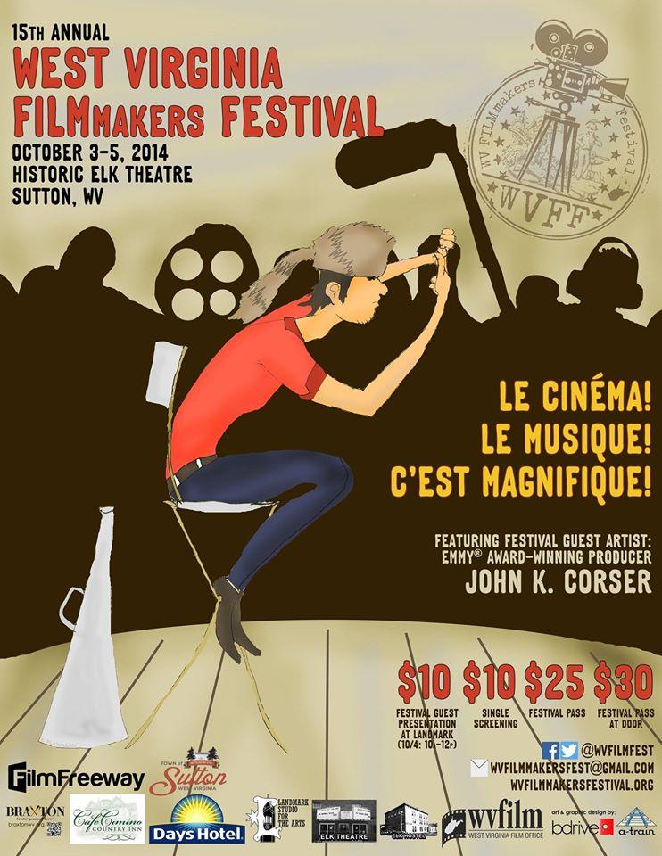 West Virginia Filmmakers Festival 2015 Poster