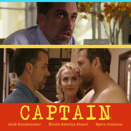 Captain (comedy short film) featured image.
