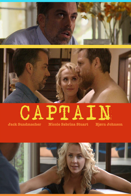 Captain (short comedy) film poster.