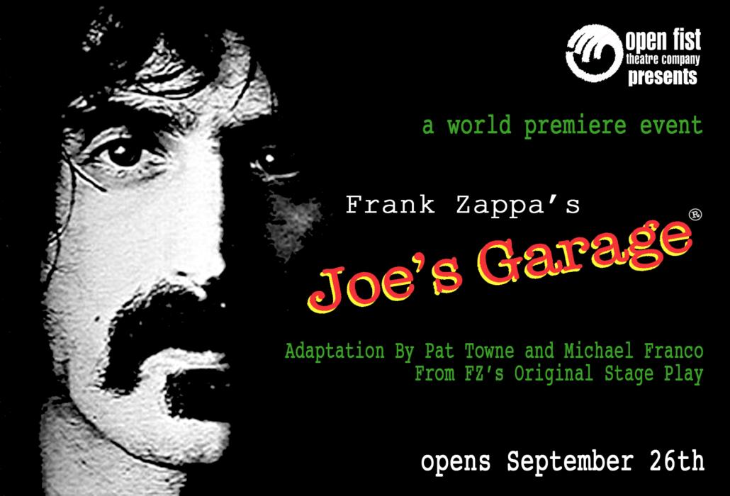Joe's Garage poster.