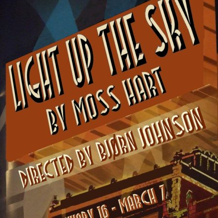 Light Up the Sky poster.