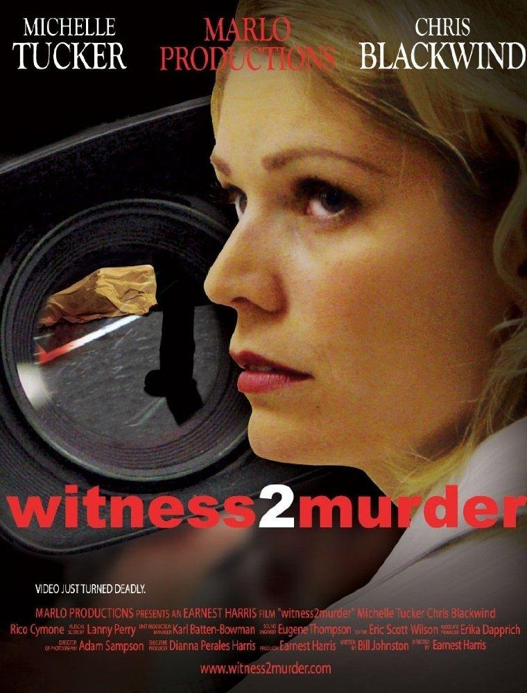 Witness 2 Murder movie poster.