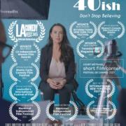 Poster: 40ish Film Festival Laurels