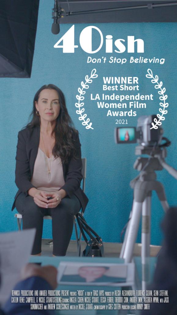 "40ish ""BestShort"" L.A. Independent Women's Film Awards"